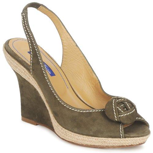 Grandes descuentos últimos zapatos Atelier Voisin ALIX Kaki - Envío gratis Nueva promoción - Zapatos Sandalias Mujer
