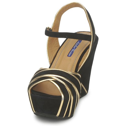 Factor Sandalias Atelier Mujer Voisin Negro Zapatos 4q35jLAR