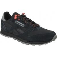 Zapatos Niños Multideporte Reebok Sport Classic Leather negro