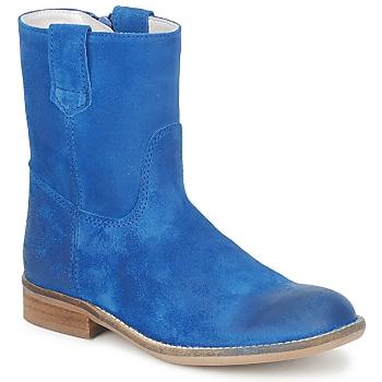 Zapatos Niña Botas de caña baja Hip DIRAN Azul