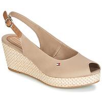 Zapatos Mujer Sandalias Tommy Hilfiger ELBA 39D2 Beige