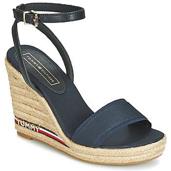 Zapatos Mujer Sandalias Tommy Hilfiger ELENA 78C1 Marino