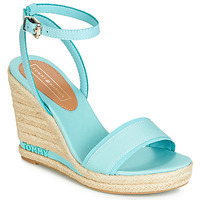 Zapatos Mujer Sandalias Tommy Hilfiger ELENA 78C Azul / Celeste