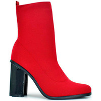 Zapatos Mujer Botines Exé Shoes BOTINES TACON MULTI ROJO KENDAL-422 Rojo