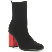Zapatos Mujer Botines Exé Shoes BOTINES TACON MULTI NEGRO KENDAL-422 Color Negro