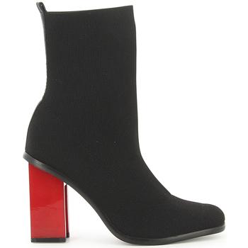 Zapatos Mujer Botines Exé Shoes BOTINES TACON MULTI NEGRO KENDAL-422 Negro