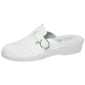 Zapatos Mujer Zuecos (Clogs) Percla Zuecos de trabajo BLANCO
