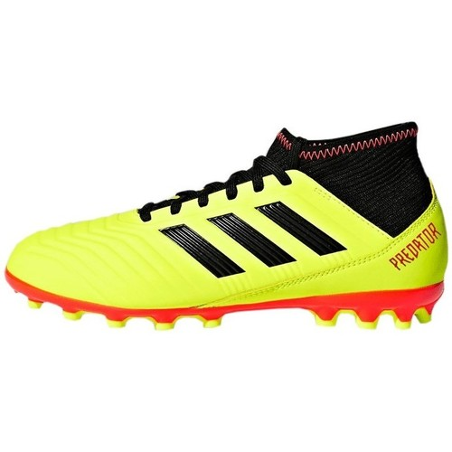adidas Originals Predator 183 AG J Amarillo - Zapatos Fútbol Nino