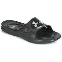 Zapatos Hombre Chanclas Under Armour Locker III SL Negro