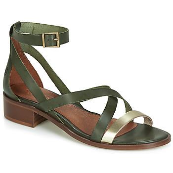 Zapatos Mujer Sandalias Casual Attitude JALAYECE Verde