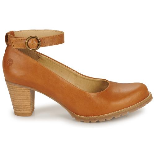 Zapatos Tacón De Casual Attitude Camel UzpqSMV
