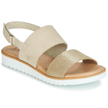 Zapatos Mujer Sandalias Casual Attitude JALAYEPE Beige