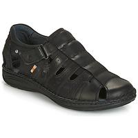 Zapatos Hombre Sandalias Casual Attitude JALAYIME Negro