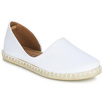 Zapatos Mujer Alpargatas Casual Attitude JALAYIVE Blanco