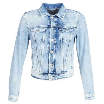 textil Mujer chaquetas denim Pepe jeans CORE Azul / Claro / Md0