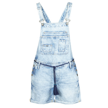 textil Mujer Monos / Petos Pepe jeans ABBY Azul