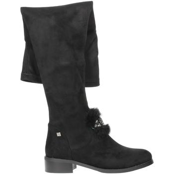 Zapatos Mujer Botas a la rodilla Braccialini TA107 Negro