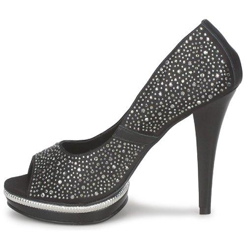 Zapatos Tacón Negro Carmen Touga De Mujer Steffens 5AR34jL