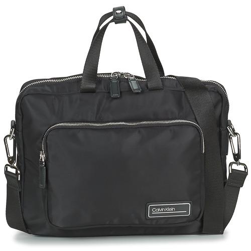 Bolsos Hombre Maletín / Portadocumentos Calvin Klein Jeans PRIMARY 1 GUSSET LAPTOP BAG Negro