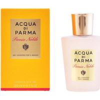 Belleza Mujer Productos baño Acqua Di Parma Peonia Nobile Gel De Ducha  200 ml