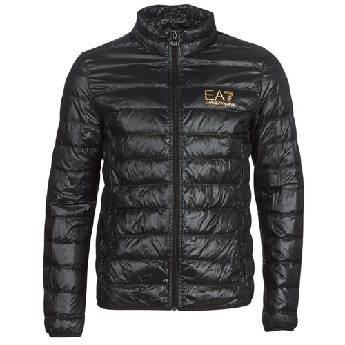 Emporio Armani EA7 TRAIN CORE ID DOWN LT Negro / Oro - Envío gratis | ! - textil plumas Hombre