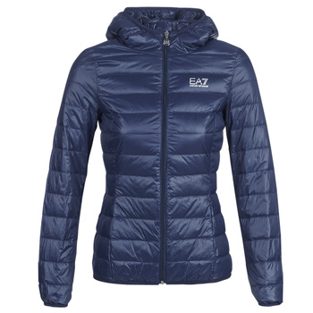 textil Mujer plumas Emporio Armani EA7 TRAIN CORE LADY LT DOWN JACKET Marino