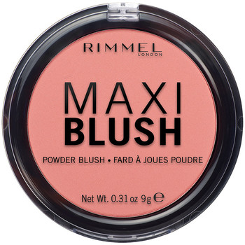 Belleza Mujer Colorete & polvos Rimmel London Maxi Blush Powder Blush 006-exposed 9 Gr 9 g