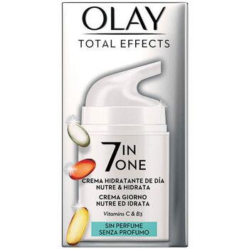 Belleza Mujer Antiedad & antiarrugas Olay Total Effects Anti-edad Hidratante Sin Perfume  50 ml