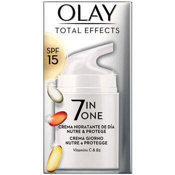 Belleza Mujer Antiedad & antiarrugas Olay Total Effects Anti-edad Hidratante Spf15  50 ml