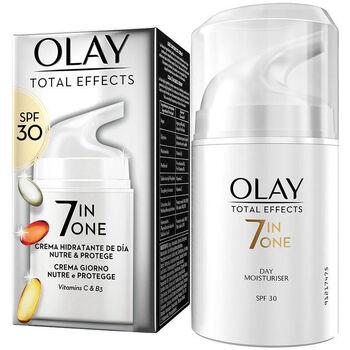 Belleza Mujer Antiedad & antiarrugas Olay Total Effects Anti-edad Hidratante Spf30  50 ml