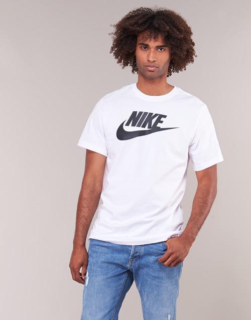Manga Nike Camisetas Sportswear Corta Hombre Blanco Textil Rqc4Aj35L