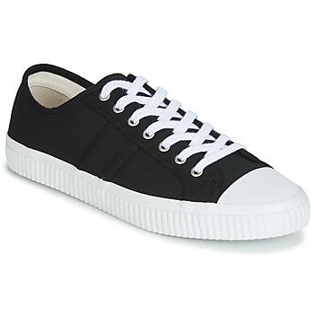 Zapatos Hombre Zapatillas bajas Jim Rickey TROPHY Negro / Blanco