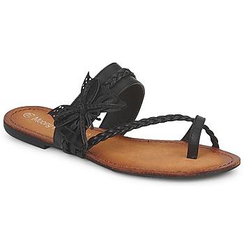 Zapatos Mujer Chanclas Moony Mood LILIANA Negro