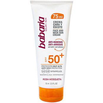 Belleza Protección solar Babaria Solar Cara&escote Fluido Anti-manchas Spf50+
