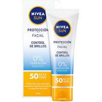 Belleza Protección solar Nivea Sun Facial Control De Brillos Spf50