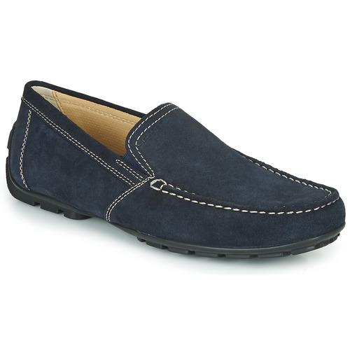 Zapatos Hombre Mocasín Geox MONET Azul