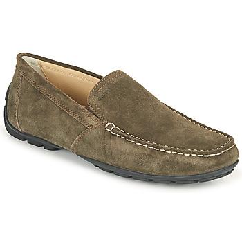Zapatos Hombre Mocasín Geox MONET Coffee