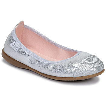 Zapatos Niña Bailarinas-manoletinas Citrouille et Compagnie JARAMIL Plata