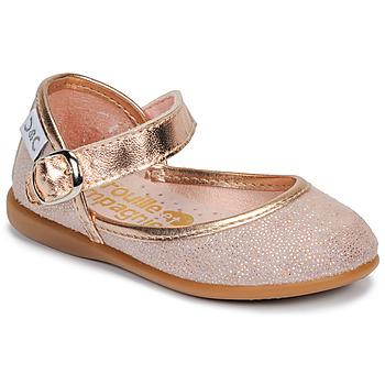 Zapatos Niña Bailarinas-manoletinas Citrouille et Compagnie JARITO Rosa / Bronce