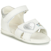 Zapatos Niña Sandalias Citrouille et Compagnie JAFALGA Blanco