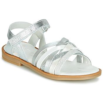 Zapatos Niña Sandalias Citrouille et Compagnie JARILOU Plata