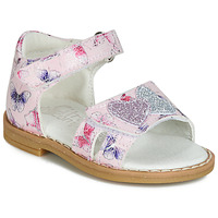 Zapatos Niña Sandalias Citrouille et Compagnie JARILOUTE Rosa