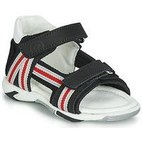 Zapatos Niño Sandalias Citrouille et Compagnie JATILETTE Negro