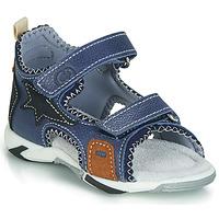Zapatos Niño Sandalias Citrouille et Compagnie JATILEME Azul / Claro