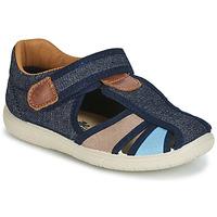 Zapatos Niño Sandalias Citrouille et Compagnie JOLIETTE Jean / Azul / Beige