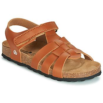 Zapatos Niño Sandalias Citrouille et Compagnie JANISOLERE Marrón