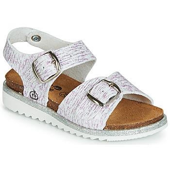Zapatos Niña Sandalias Citrouille et Compagnie JANETTA Blanco / Violeta