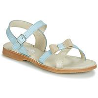 Zapatos Niña Sandalias Citrouille et Compagnie JISCOTTE Azul / Claro