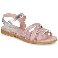 Zapatos Niña Sandalias Citrouille et Compagnie JARDINA Rosa