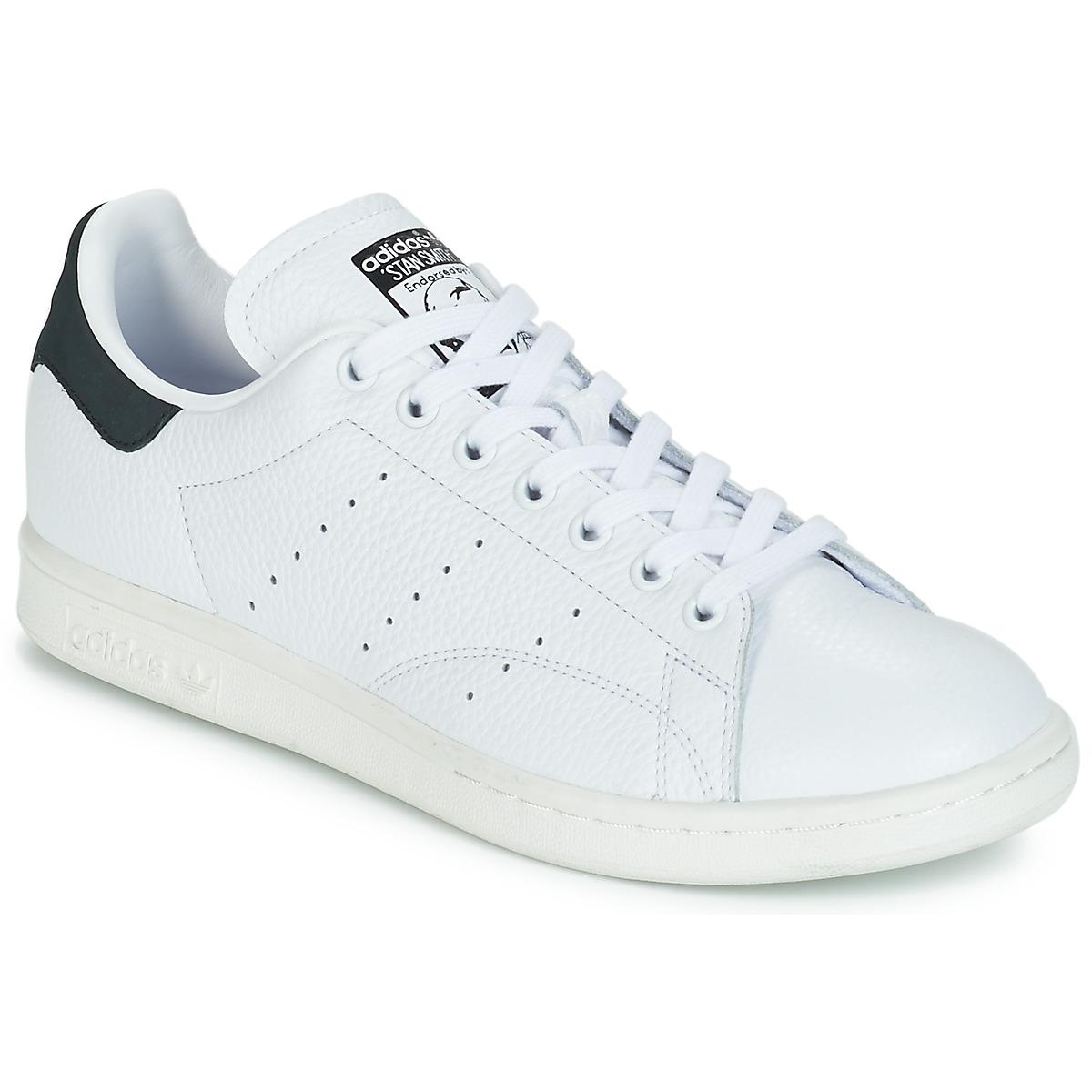 low priced 9ba1d 316d7 Adidas Adidas Adidas Originals STAN SMITH Blanco Negro - Nueva promoción - Zapatos  Deportivas bajas 86a6e2